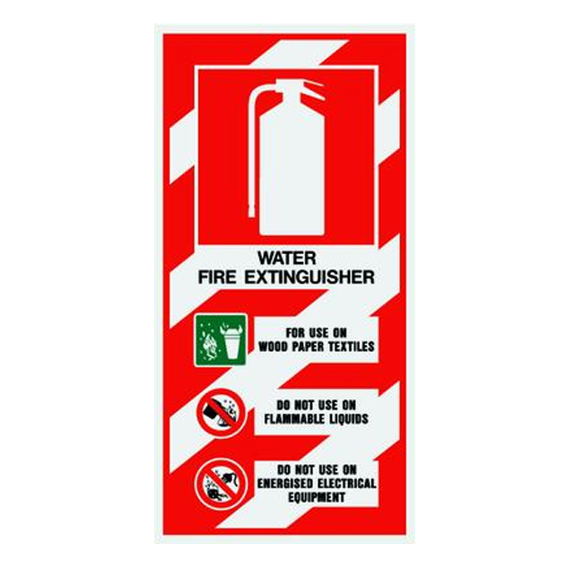 Water Fire Extinguisher Blazon Firemed Solutions