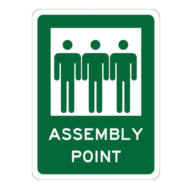 fire assembly point sign pdf